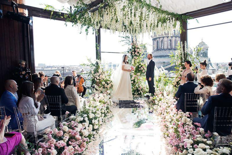 Свадьба мечты с панорамным видом в SO/ St. Petersburg  - фото 2
