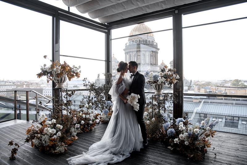Свадьба мечты с панорамным видом в SO/ St. Petersburg  - фото 1