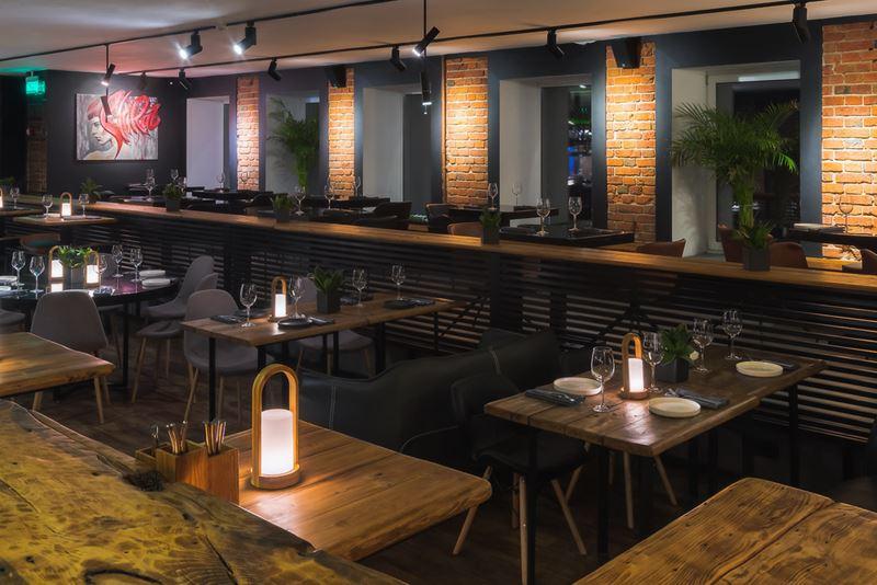 Новое место в Москве: винный ресторан Cepage на Красной Пресне - интерьер