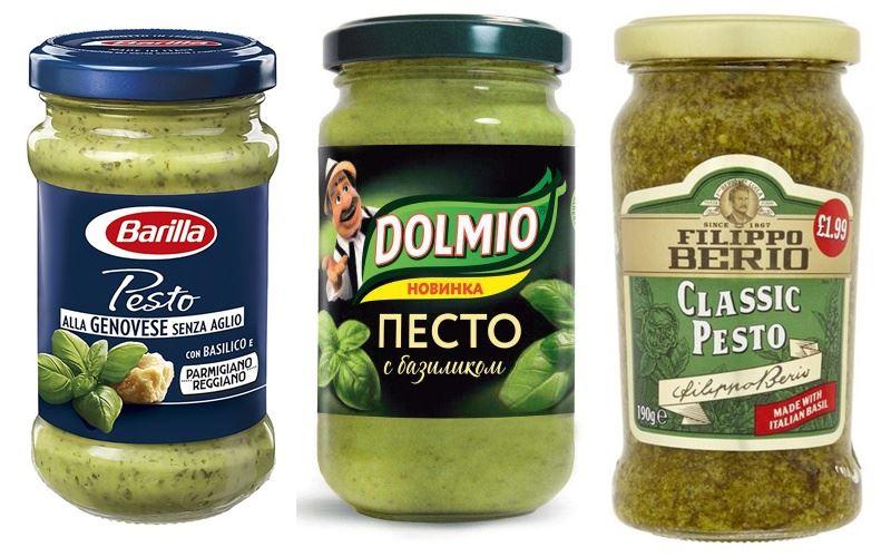 Что такое «песто» - зелёный соус с базиликом в баночках