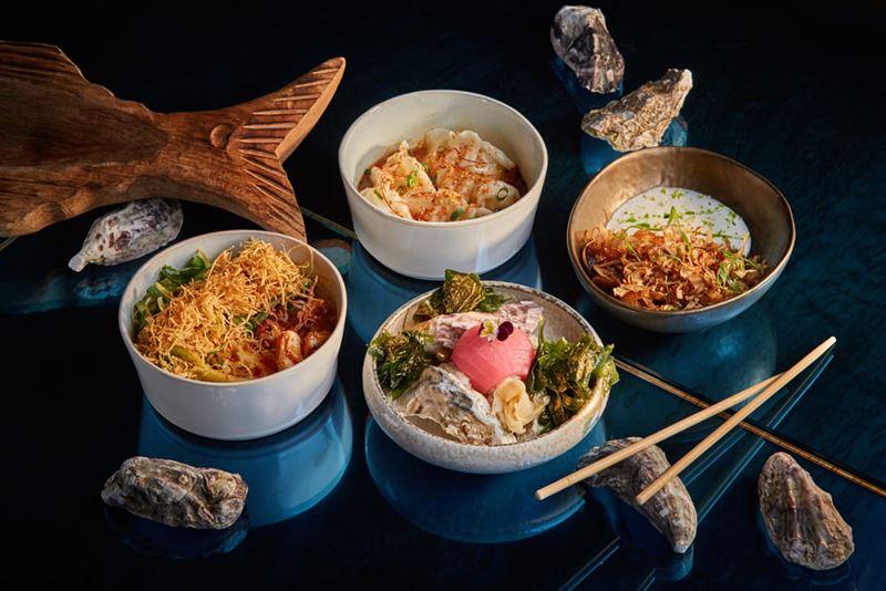 Ресторан азиатской кухни Asiatique Kitchen x Bar в Москве - Сет с морепродуктами