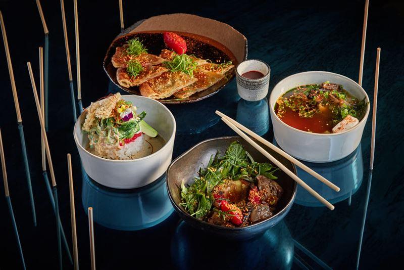 Ресторан азиатской кухни Asiatique Kitchen x Bar в Москве - Вегетарианский сет