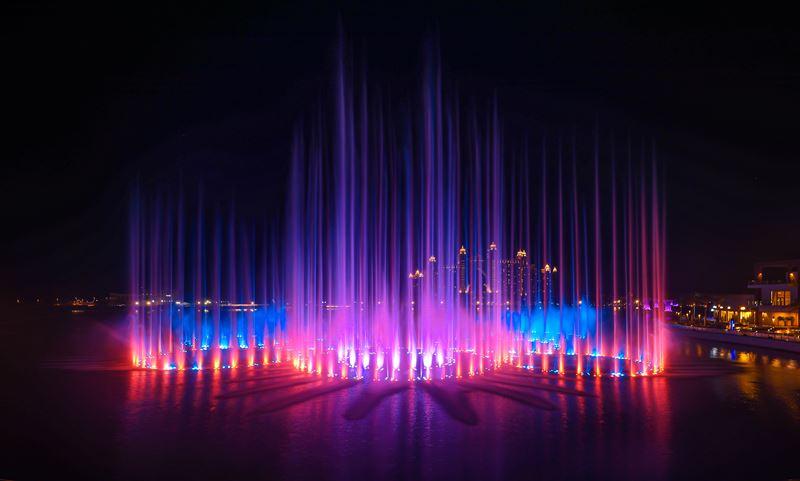 Чем заняться в Дубае в конце 2020 - The Palm Fountain