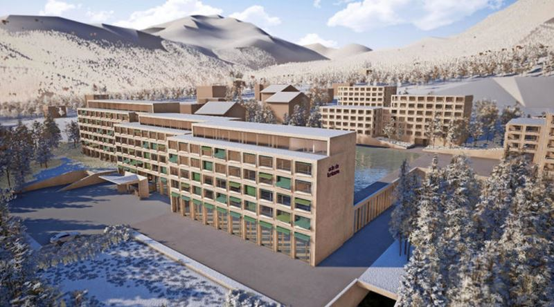 Mövenpick откроет отель и комплекс апартаментов на горнолыжном курорте Дизентис в Швейцарии
