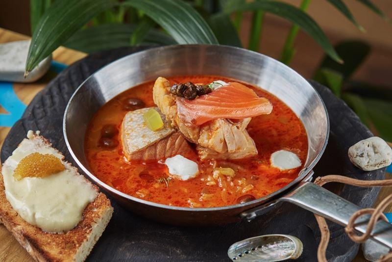 Рецепт рыбной солянки от шеф-повара ресторана «Черетто море»