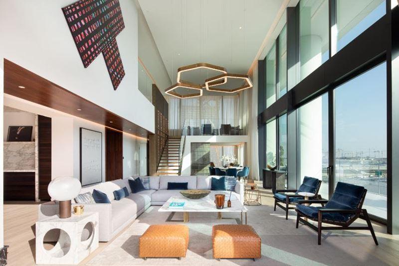 The Residences, Dorchester Collection, Dubai – отель и элитный жилой комплекс в Дубае - дизайн интерьера апартаментов