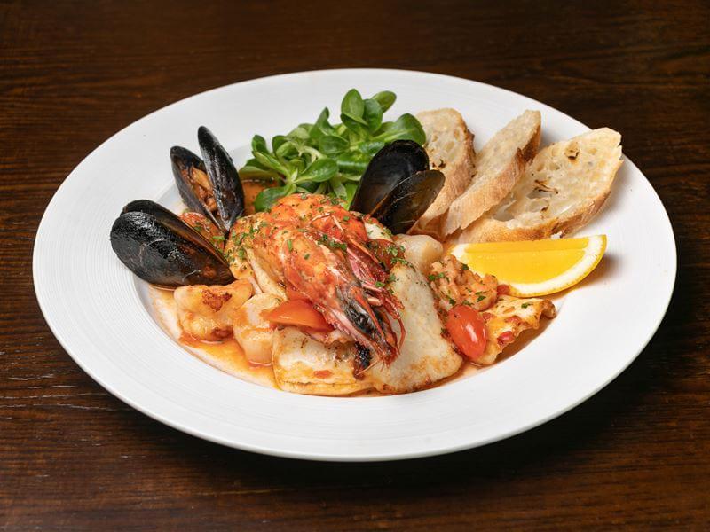 Рецепты блюд с морепродуктами - Ассорти из морепродуктов
