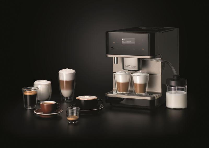CM6 MilkPerfection – новые кофемашины Miele для кофейных напитков с безупречной молочной пенкой