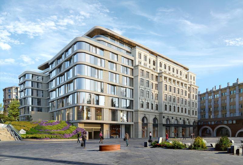 Первый отель Raffles откроется в Москве в 2022 году