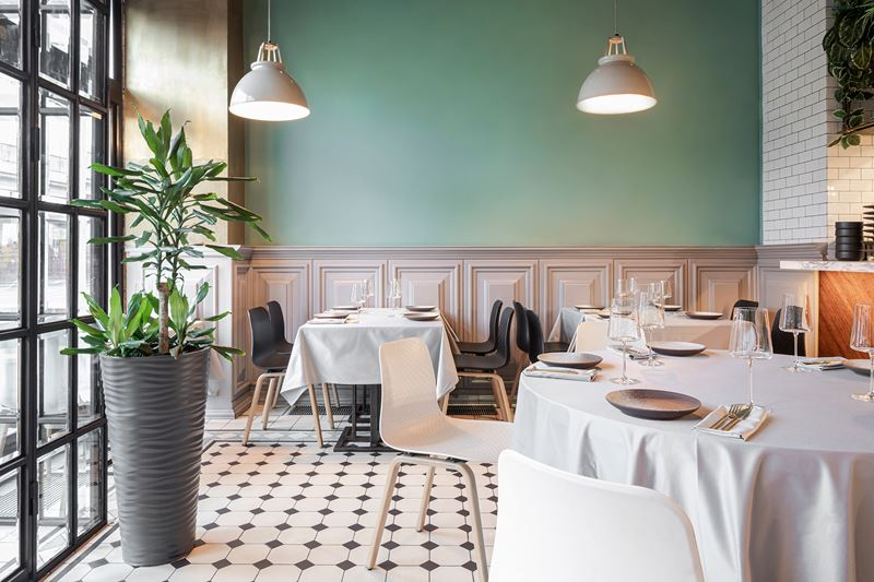 Ресторан Sybarite на Садовом кольце - интерьер (фото 2)