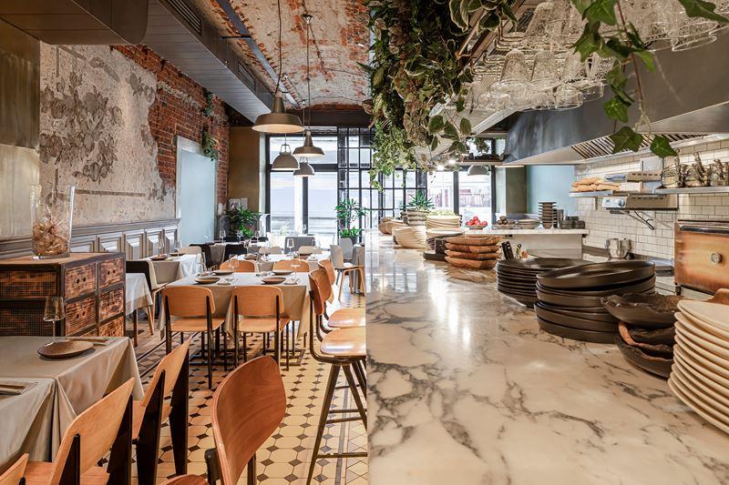 Ресторан Sybarite на Садовом кольце - интерьер (фото 1)