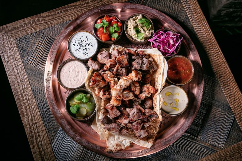 Ресторан Bazar Mangal на Сретенке - Ассорти на четверых