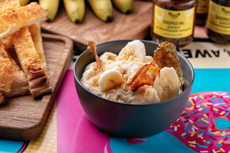 Банановый пудинг с ванильным печеньем от шеф-повара SOS.CAFE Дмитрия Чернышова
