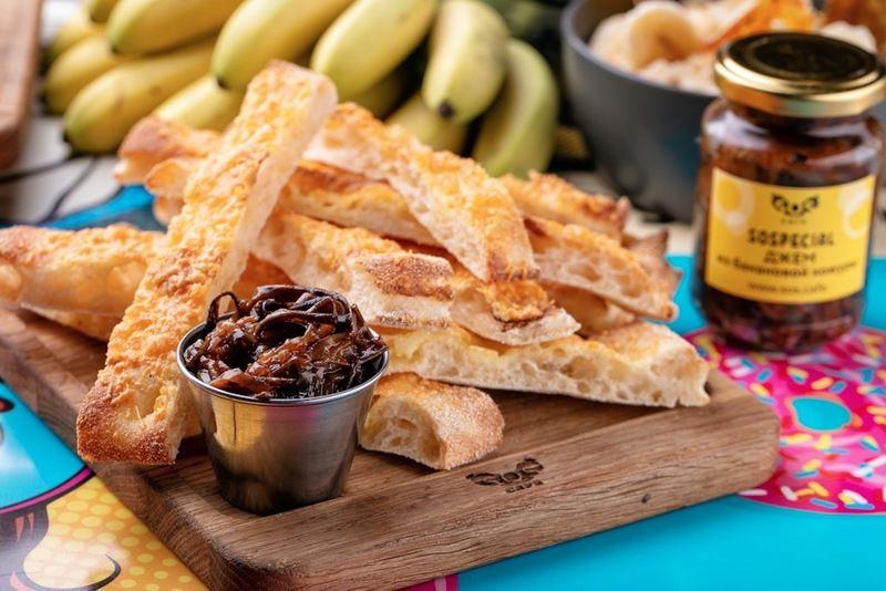 Банановый джем от шеф-повара SOS.CAFE Дмитрия Чернышова