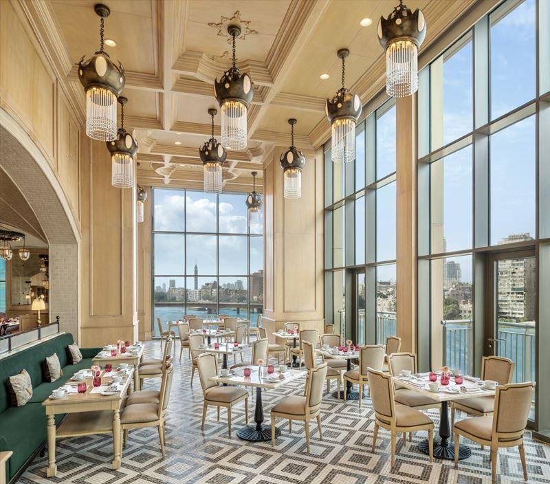 Отель St. Regis Cairo на берегу реки Нил в Египте - Ресторан La Zisa