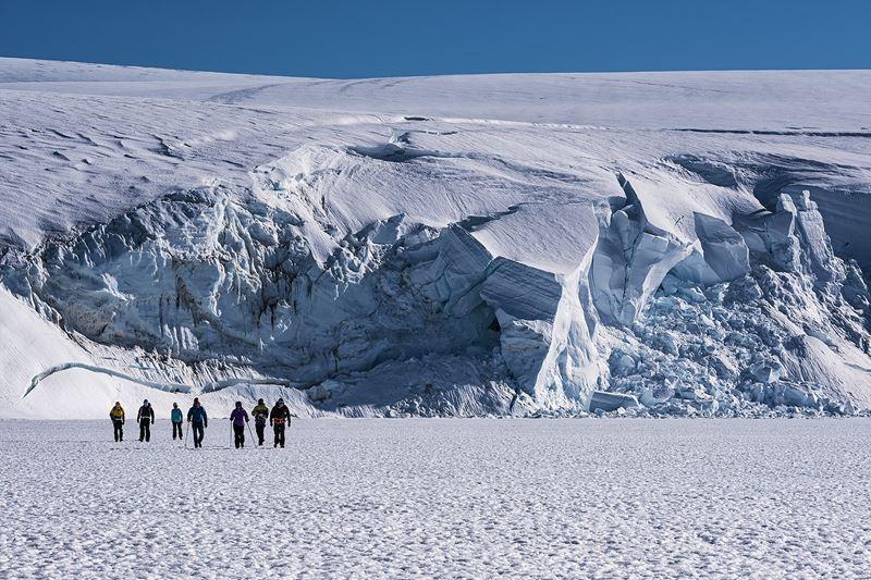 На Южный Полюс из Кейптауна: путешествие в Антарктиду - ледники