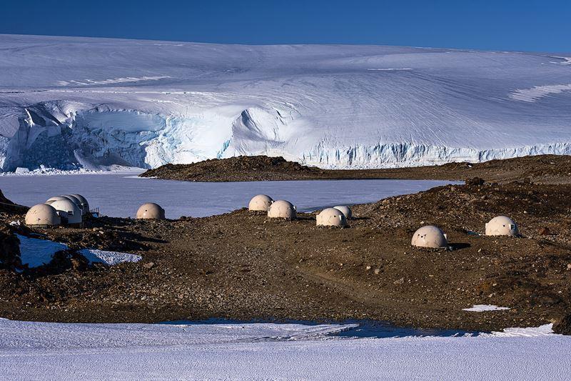 На Южный Полюс из Кейптауна: путешествие в Антарктиду - лагерь whichaway camp