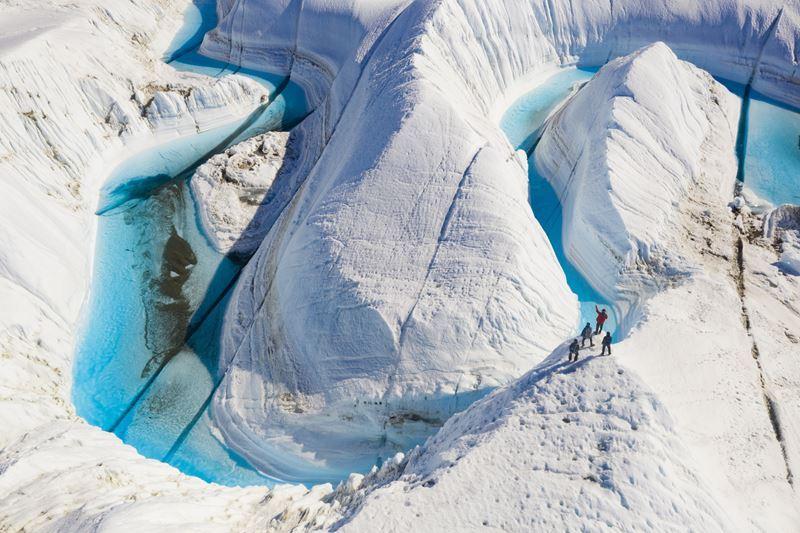 На Южный Полюс из Кейптауна: путешествие в Антарктиду - ледяные туннели