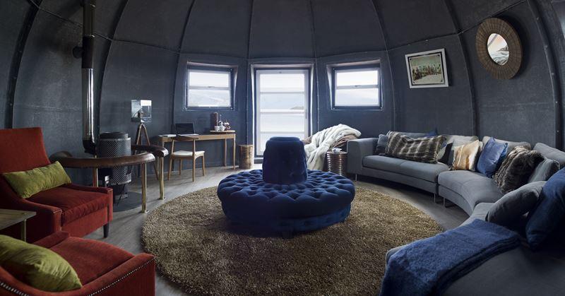 На Южный Полюс из Кейптауна: путешествие в Антарктиду - лагерь лаунж зона