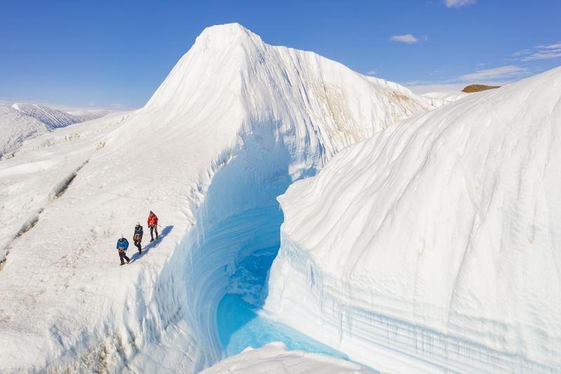 На Южный Полюс из Кейптауна: путешествие в Антарктиду - ледники и ледяные туннели