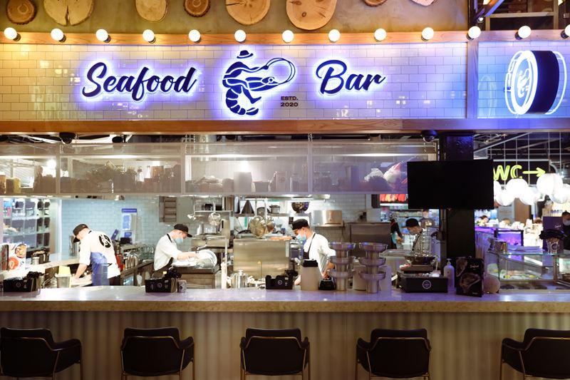 Новое место в Москве: SeaFood Bar на Усачёвском рынке