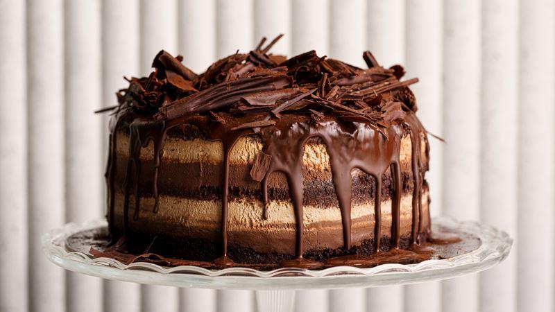 торты на заказ от COCOCO Bistro (Санкт-Петербург) - Королевский шоколадный торт