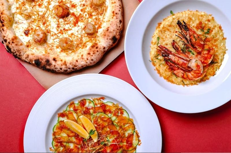 Фестиваль боттарги в итальянском ресторане ACCENTI (Москва, февраль 2021)