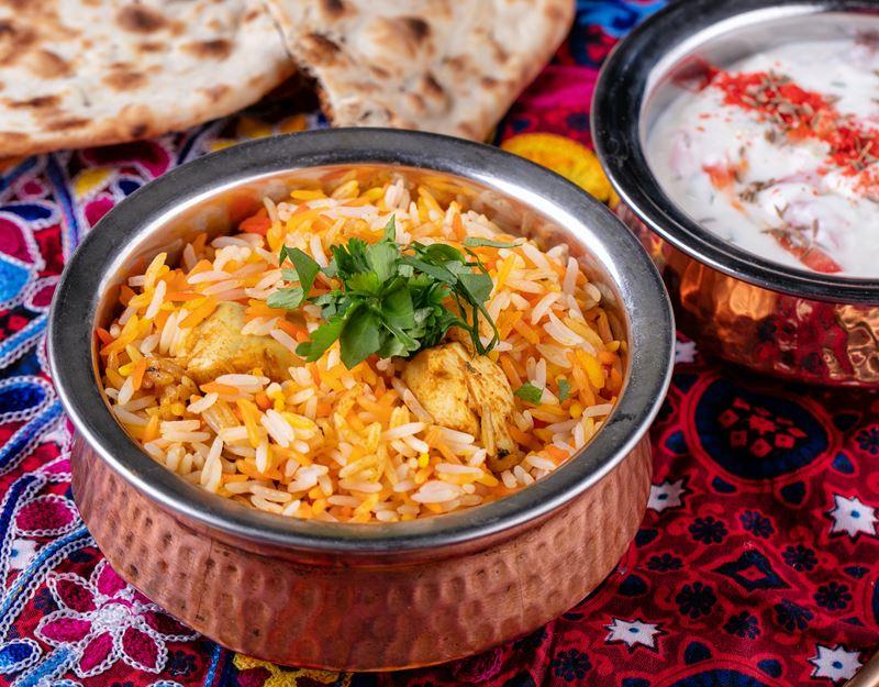 Бирьяни с курицей от шеф-повара ресторана Tajj Mahal Мумтаза Арайна