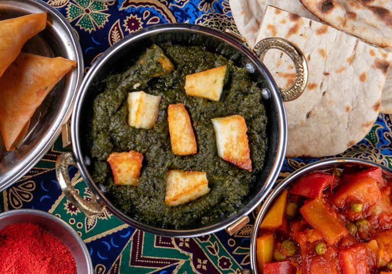 Палак панир - рецепт шеф-повара ресторана Tajj Mahal Мумтаза Арайна