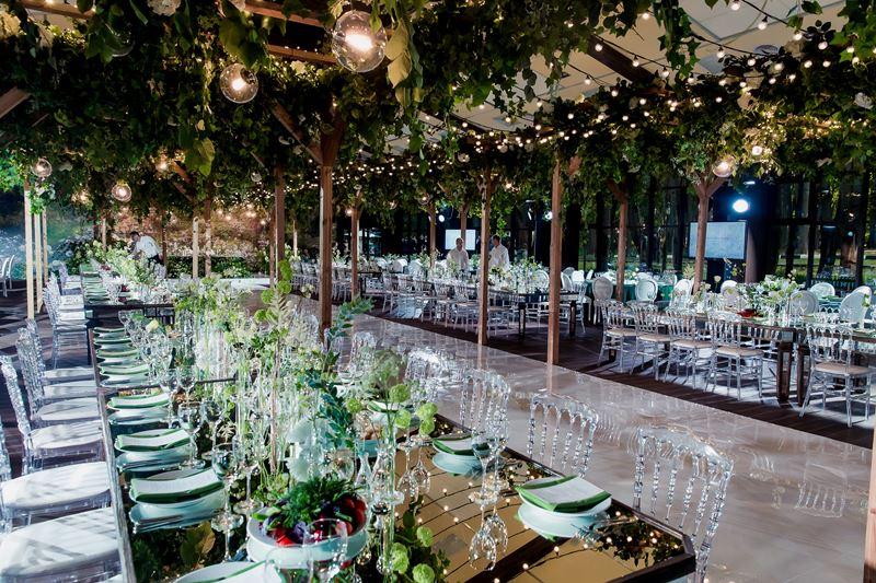 Свадьба на воде: открытие сезона в банкетных залах Yacht Event - декор