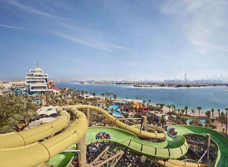 Atlantis Aquaventure Dubai – лучший аквапарк на Ближнем Востоке и один из крупнейших в мире