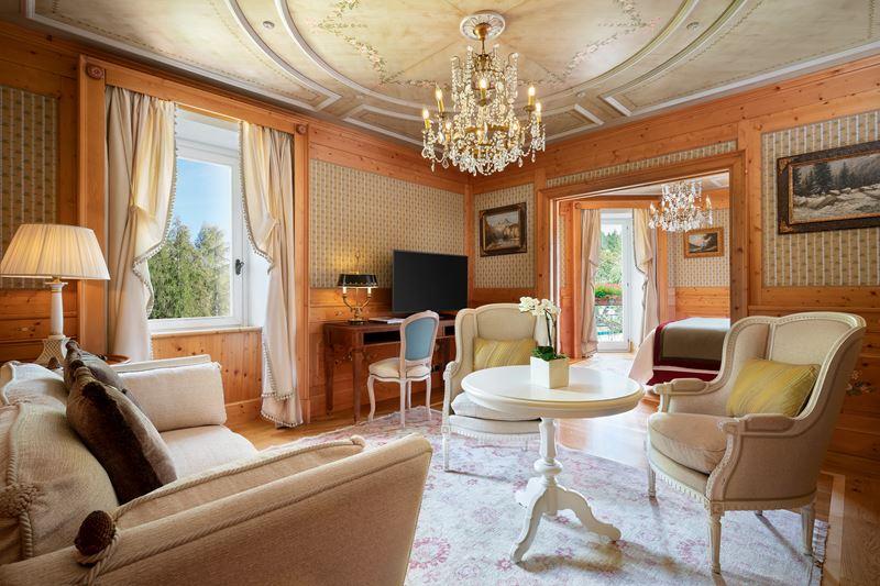 Номер имени Фрэнка Синатры Cristallo, a Luxury Collection Resort&Spa