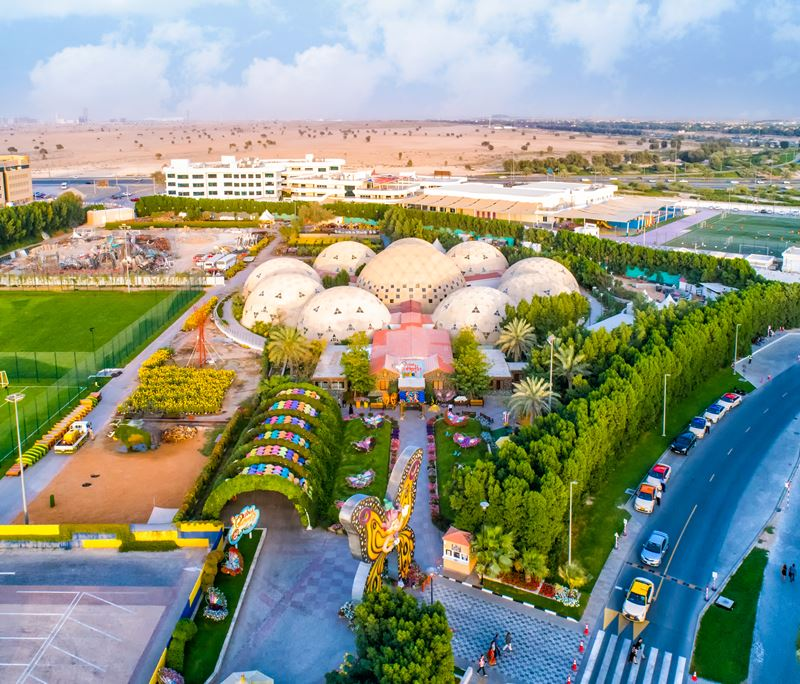Семейный отдых в Дубае с детьми - Сад бабочек