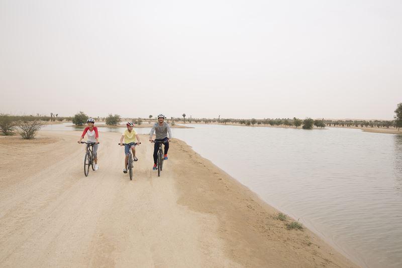 Семейный отдых в Дубае с детьми - Озера Аль Кудра