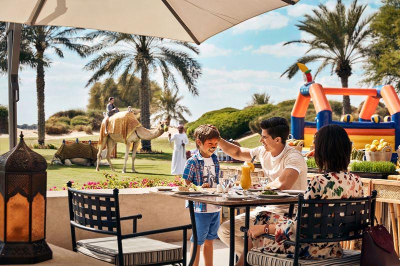 Семейный отдых в Дубае с детьми - Курорт Bab Al Shams Desert