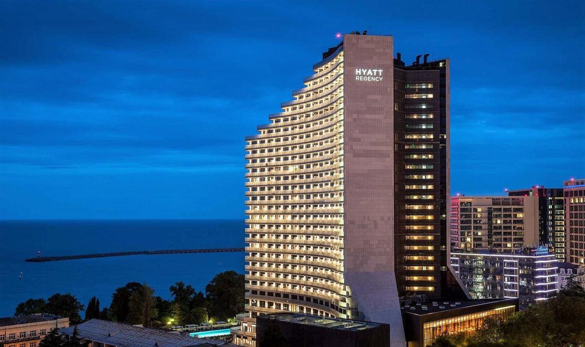 Лучшие отели Сочи класса «люкс» - Hyatt Regency Sochi