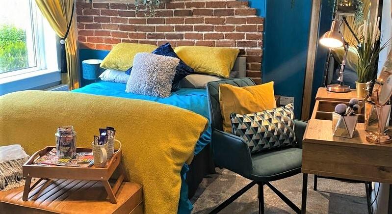 Ремонт спальни как в отеле - дизайн интерьера комнаты