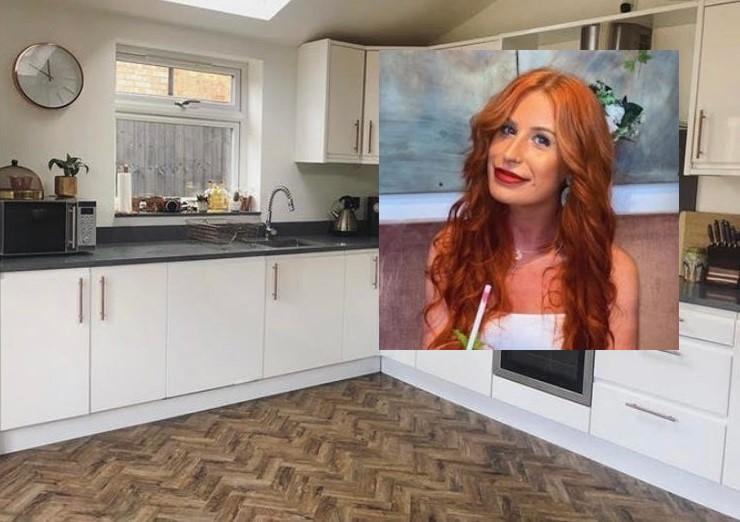 Успеть за 24 часа: девушка своими руками перекрасила белую глянцевую кухню в чёрную матовую, чтобы сэкономить на ремонте