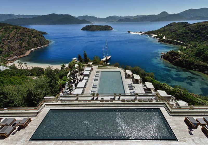 5 пляжей отеля D Maris Bay для тех, кто скучает по солнцу Турции