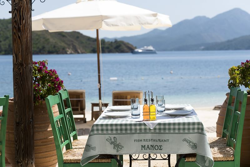 Пляжи отеля D Maris Bay (Турция) - Manos