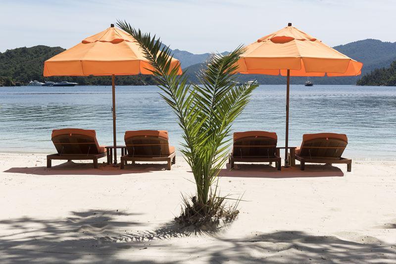 Пляжи отеля D Maris Bay (Турция) - VIP-пляж Maris