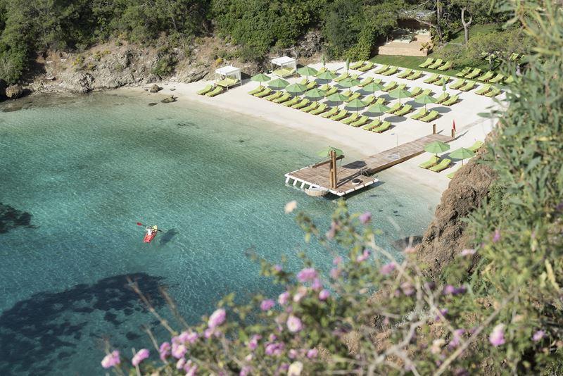 Пляжи отеля D Maris Bay (Турция) - Пляж Silence
