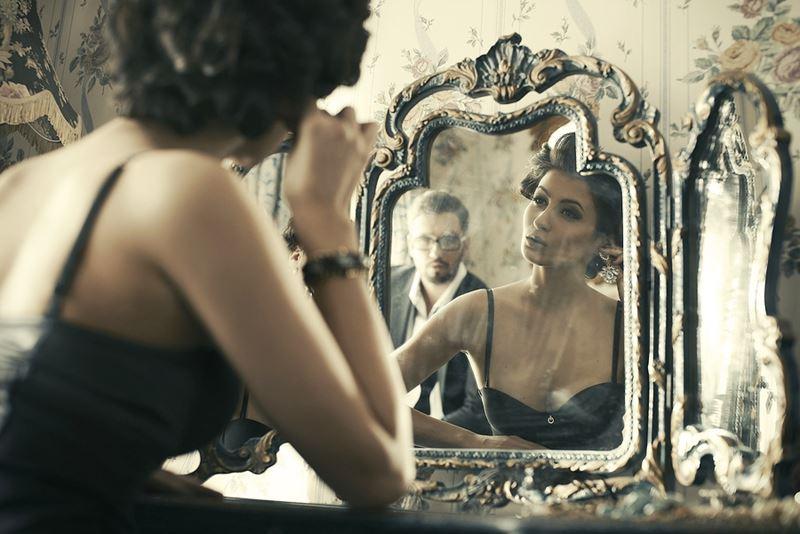 Зеркало в интерьере - функциональность - смотреться