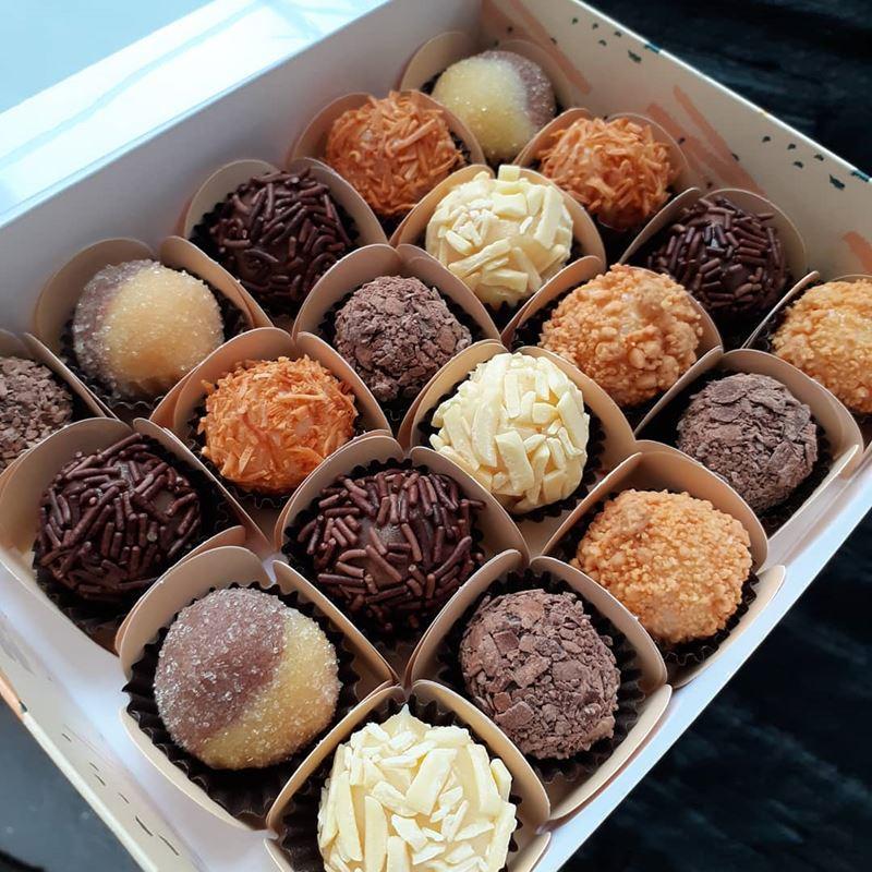 Традиционные десерты разных стран - Бригадейро (Бразилия)