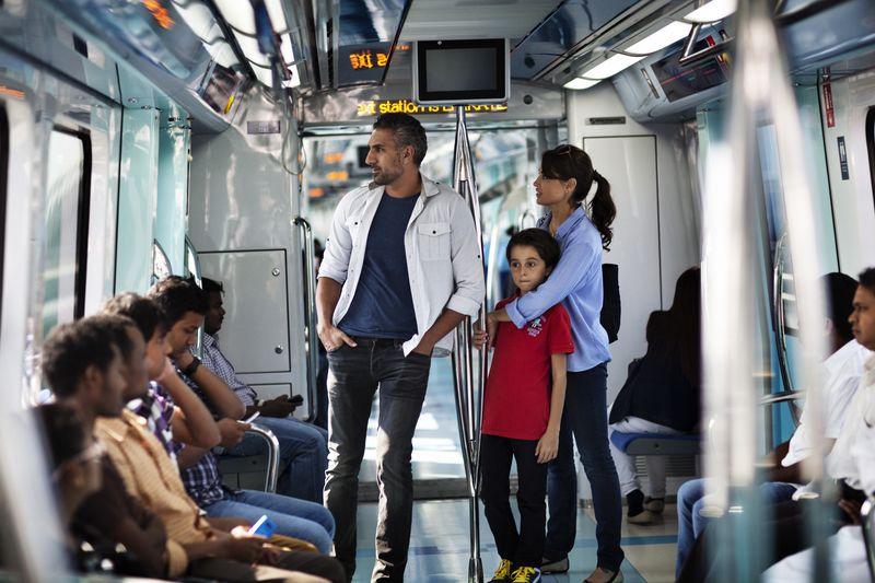 Интересные факты о Дубае - метро