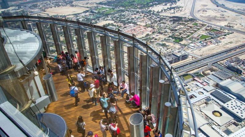 Интересные факты о Дубае - скоростные лифты и смотровая площадка