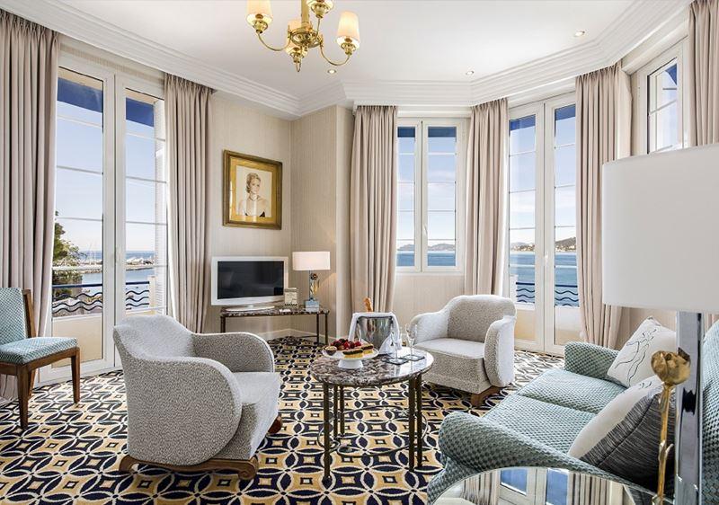 Отель Belles Rives (Франция, Лазурный берег) – номер с панорамным видом