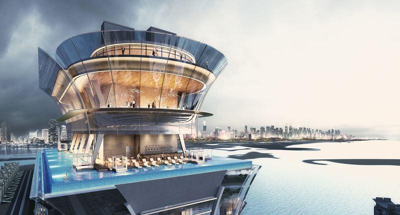 Летние каникулы в Дубае 2021 - Смотровая площадка The View at The Palm