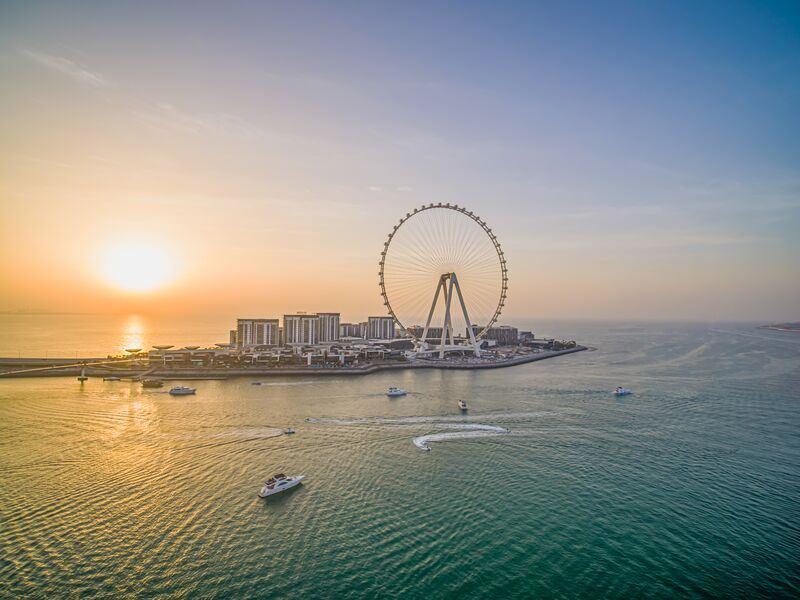 Интересные факты о Дубае - самое большое колесо обозрения