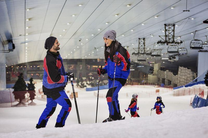 Летние каникулы в Дубае 2021 - Горнолыжный комплекс Ski Dubai